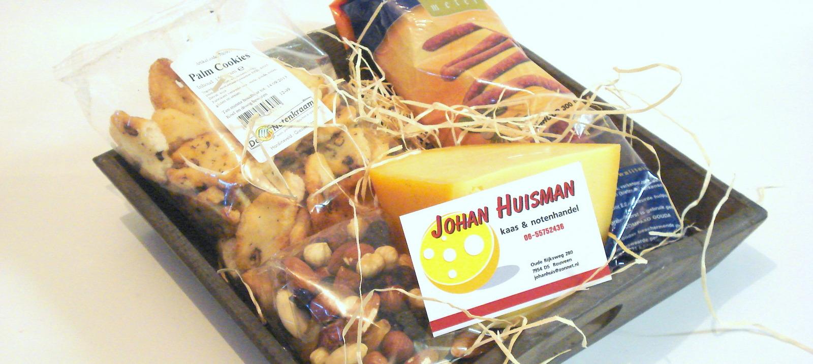 Kaas en notenpakket
